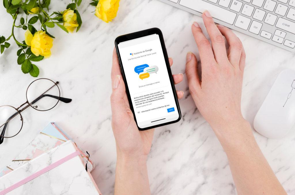 Google Assistant, el asistente virtual de Google construido en Dialogflow