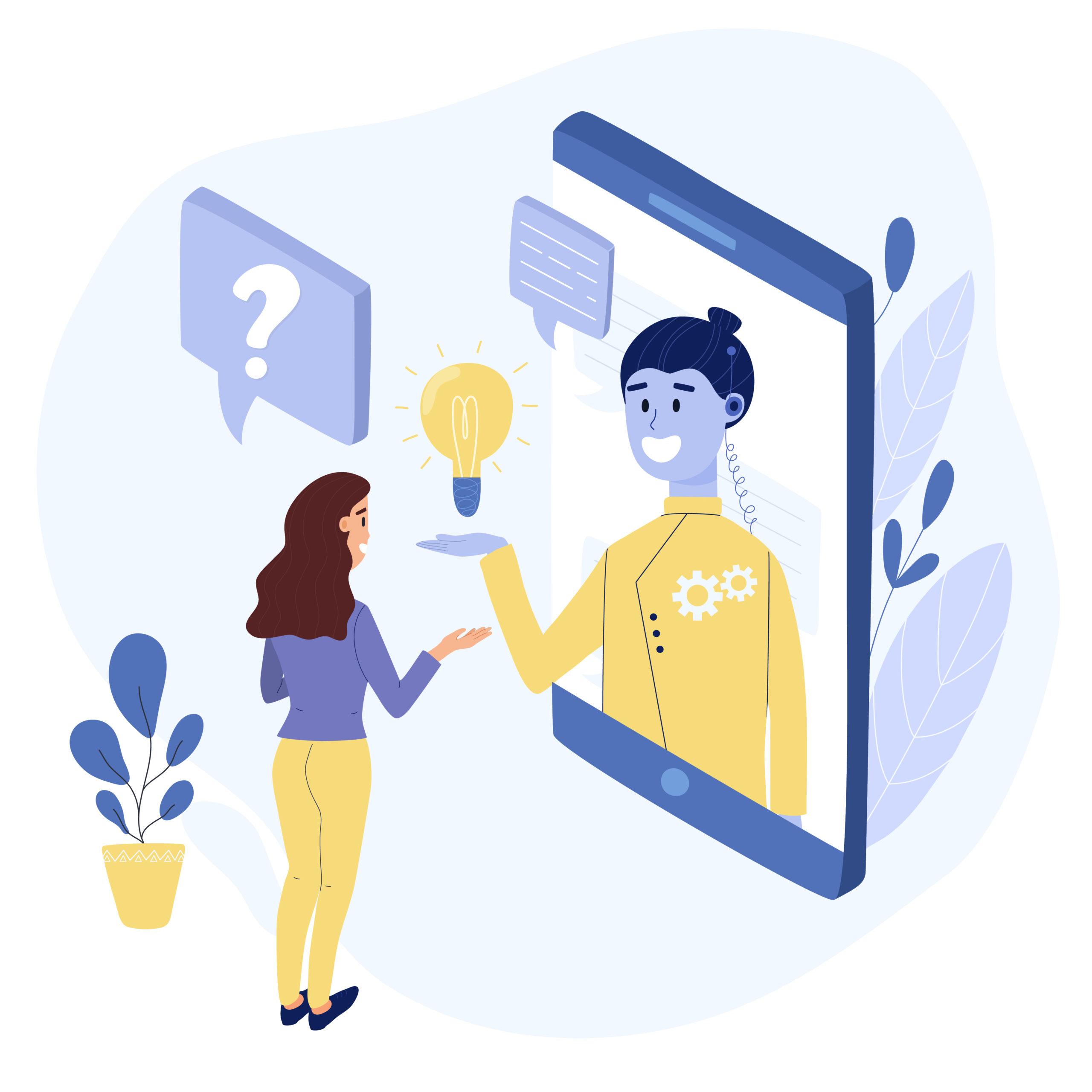 Humanizar un asistente virtual