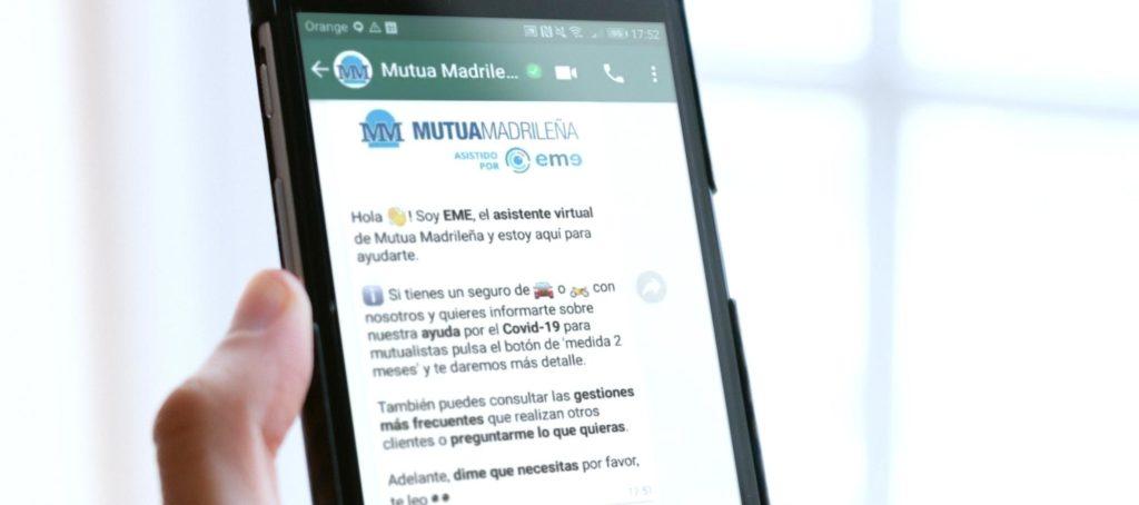 EME Mutua Madrileña WhatsApp