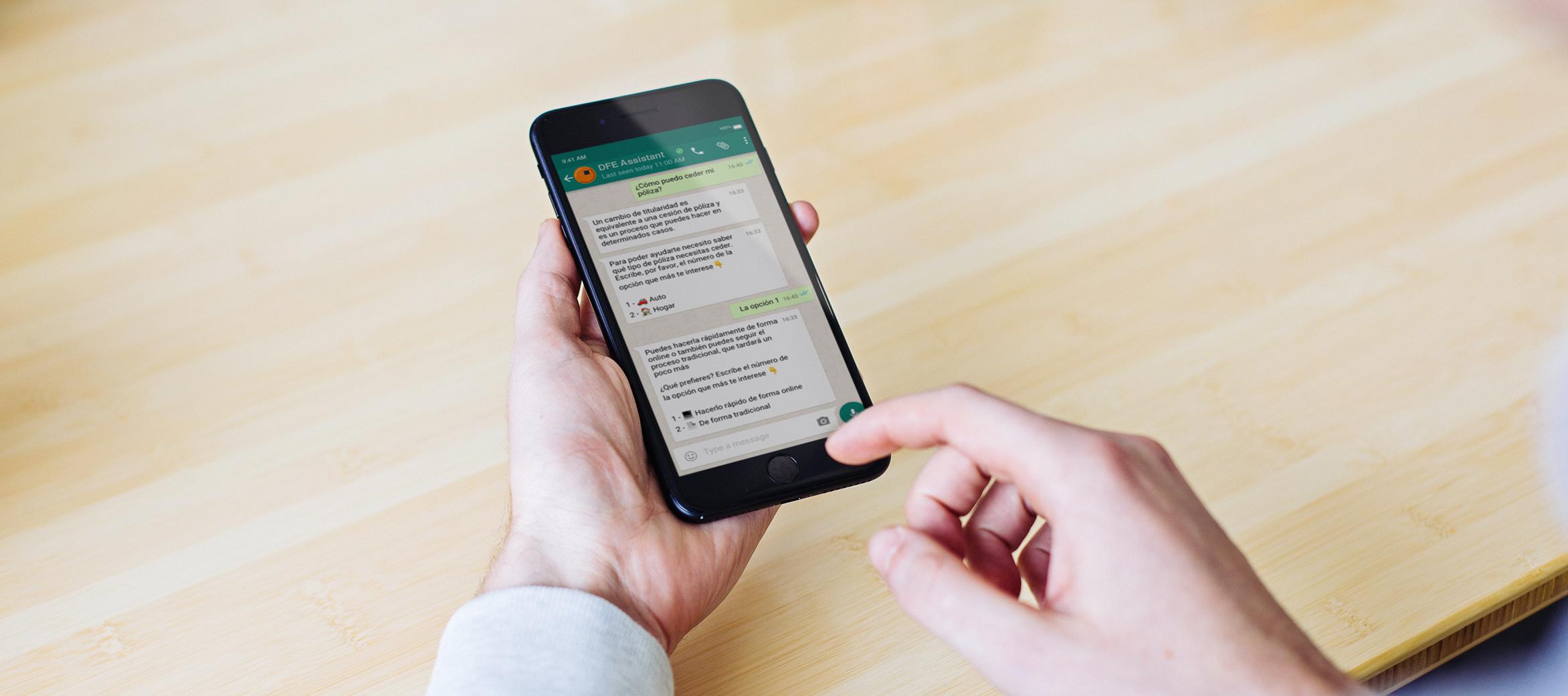 Chatbot en WhatsApp