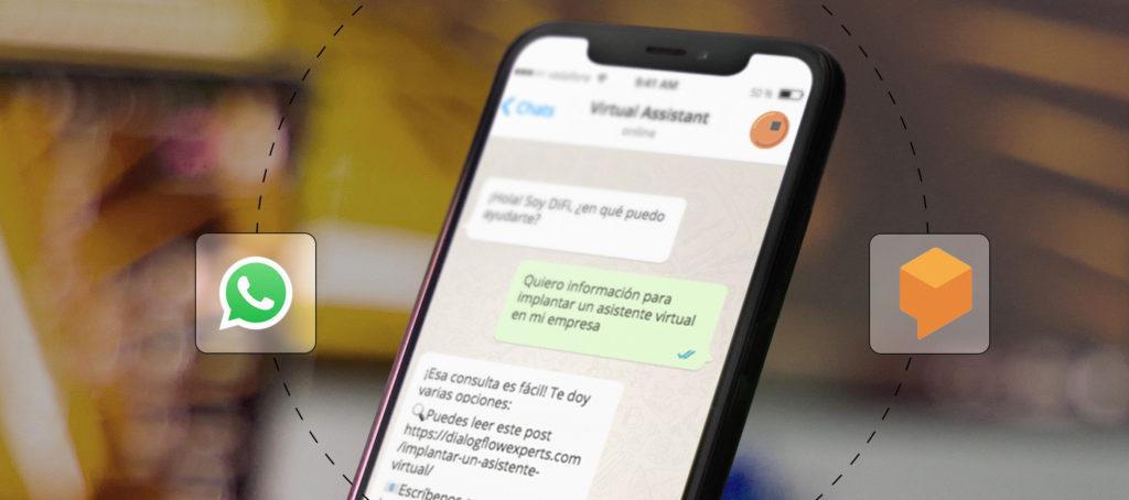 Implantar asistente virtual en WhatsApp